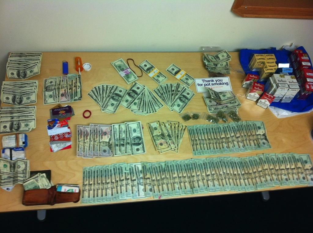 Money And Drugs WallpaGuns Wallpaper