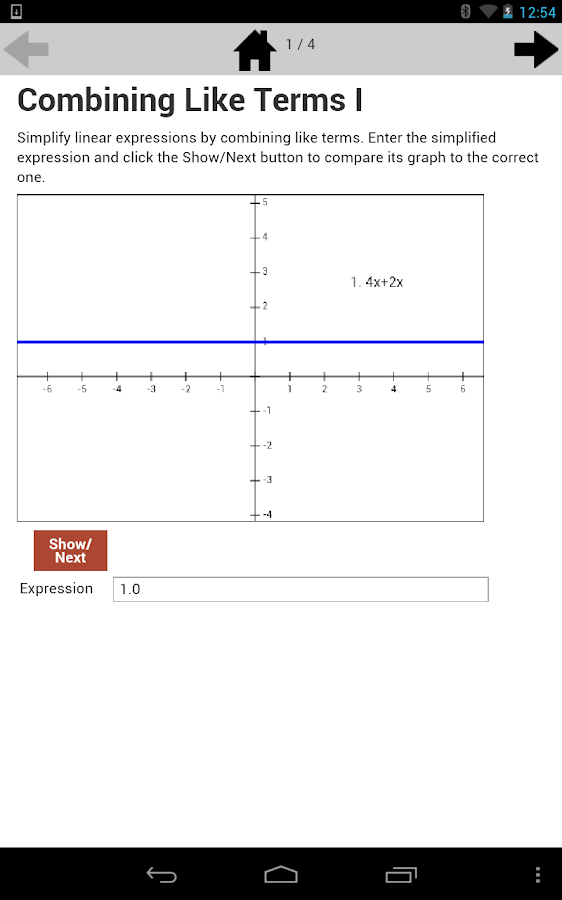 Equivalent Expressions 7.EE.1- screenshot