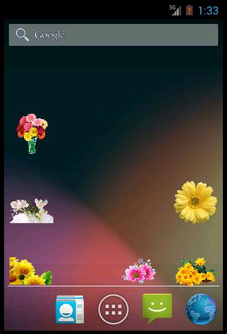 Widgets store: Flowers Set