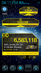 EXO M V Widget