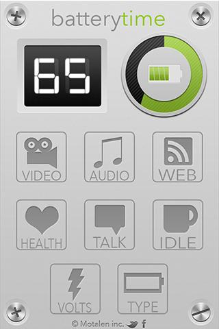 BatteryTime Pro - screenshot