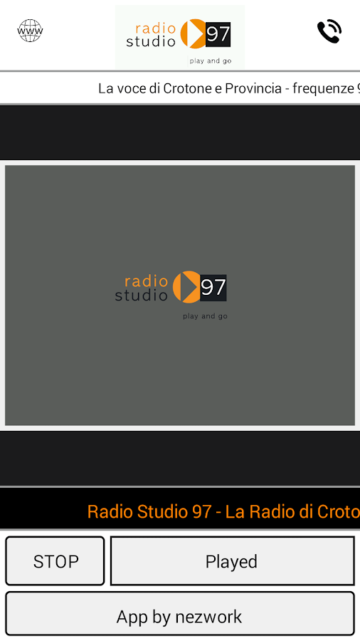 Radio Studio 97- screenshot