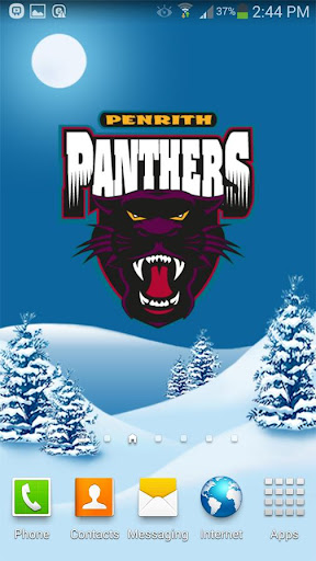 Penrith Panthers Snow Globe