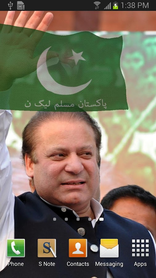 3d Muslim League-Nawaz Flag - screenshot