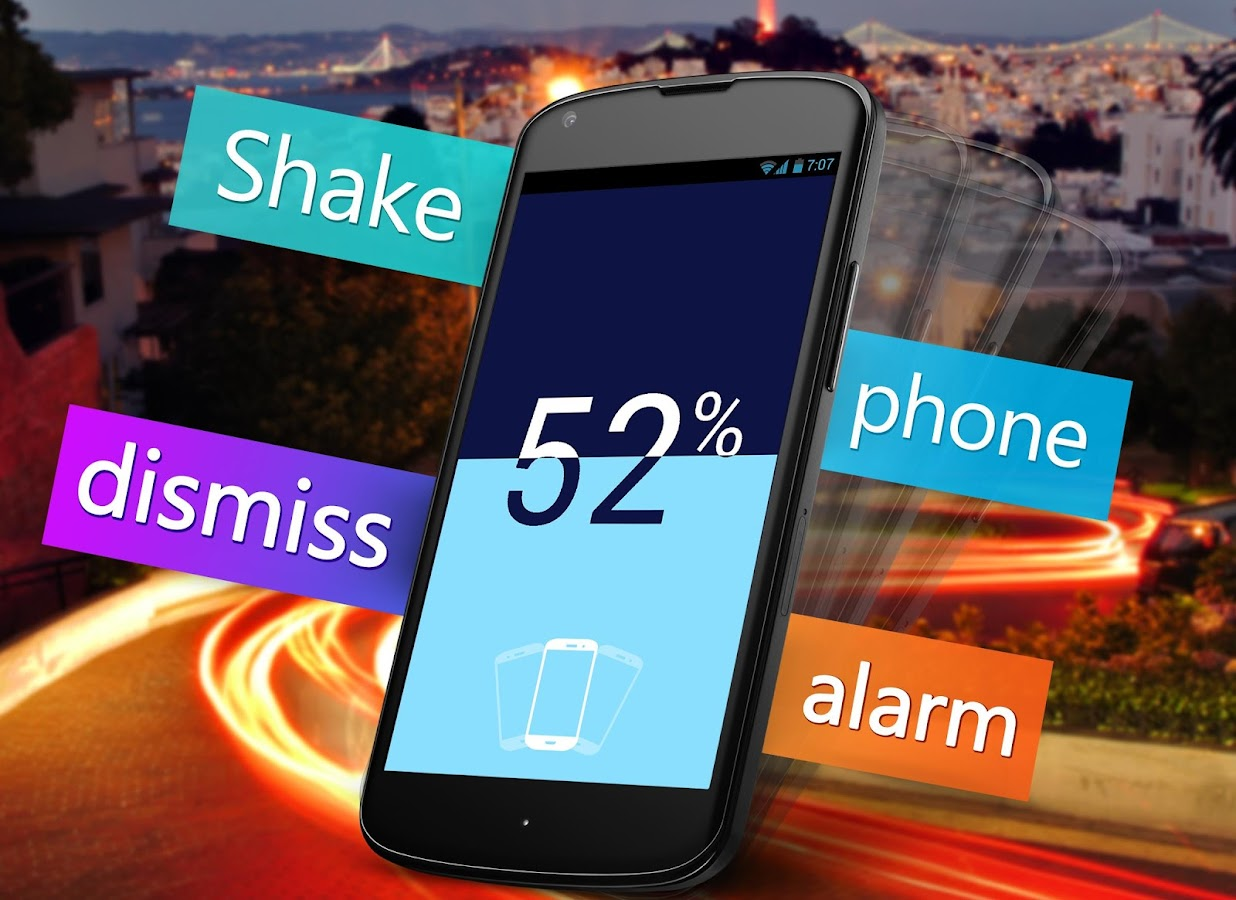 Neon Alarm Clock Free - screenshot