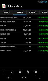 US Stock Market- screenshot thumbnail