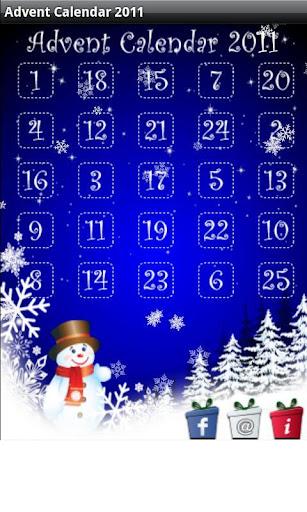 Christmas Advent Calendar 2011