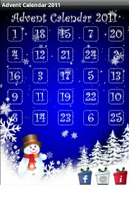 Christmas Advent Calendar 2011 - screenshot thumbnail