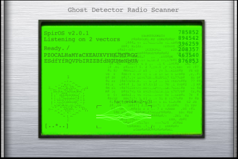 Ghost Detector Radio Scanner