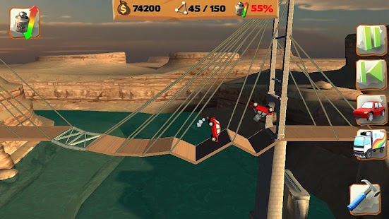 Bridge Constructor PG FREE- screenshot thumbnail
