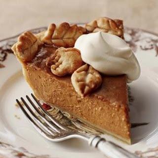 Bourbon-Pecan Pumpkin Butter Pie