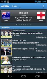Cricbuzz Cricket Scores & News Screenshot 1