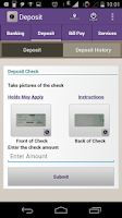 Screenshot of Orange County's CU Mobile App