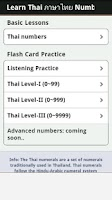 Screenshot of Learn Thai Numbers, Fast!