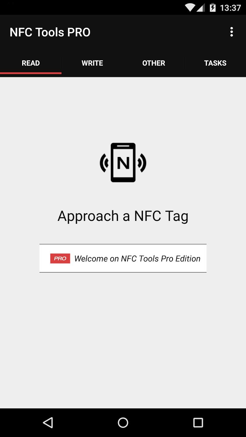NFC Tools - Pro Edition Screenshot 1