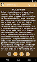 Screenshot of Fish Fry Recipes