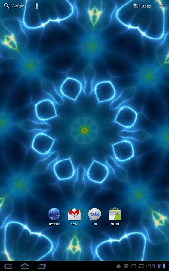 Prismatic Free Live Wallpaper - screenshot