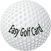Easy Golf Card