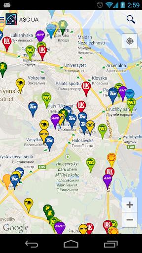 АЗС UA: Заправки в Украине