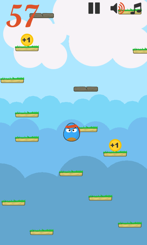 Egg Jump- screenshot