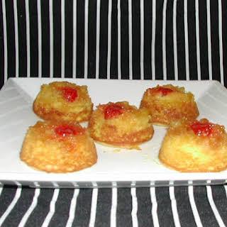 Mini Pineapple Upside-Down Cakes.