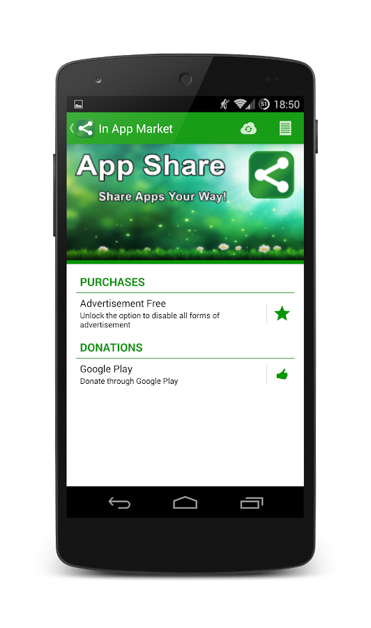 App Share - screenshot