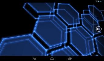 Screenshot of Digital Hive Live Wallpaper