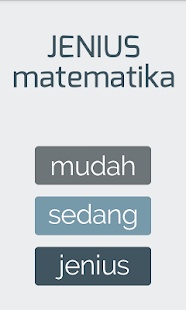Jenius Matematika- screenshot thumbnail