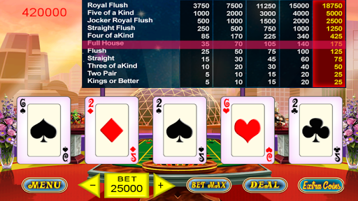 High Roller Video Poker