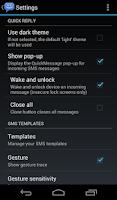 Screenshot of 8sms (Stock Messaging, KitKat)