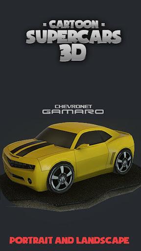 Toon Cars Chevi Camaro 3D lwp