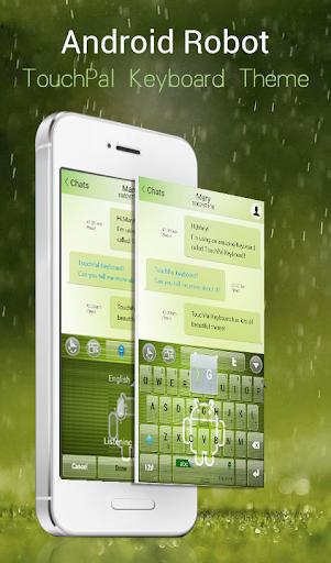 Android Robot Emoji Keyboard