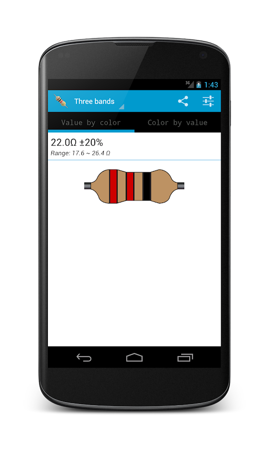 Resistor Calculator Free Android Apps On Google Play