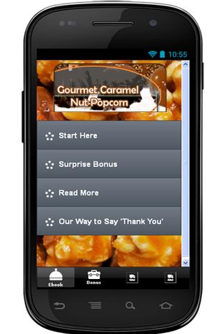 【免費生活App】Gourmet Caramel Nut Popcorn-APP點子