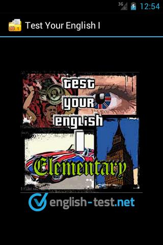 Test Your English I. - screenshot