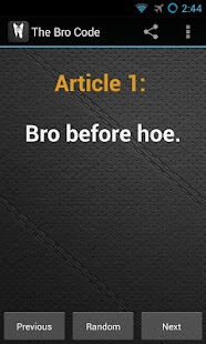The Bro Code - screenshot thumbnail