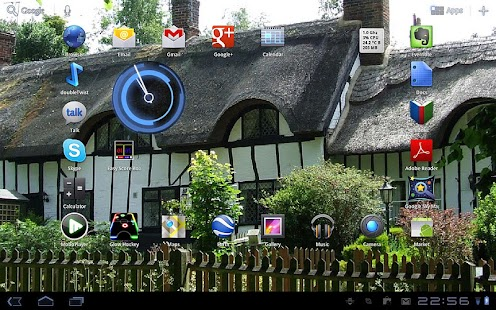 Thatched Cottages Wallpaper - screenshot thumbnail