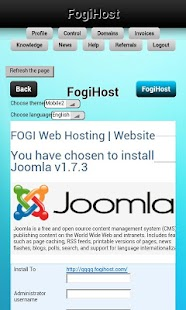 Site builder & Free webhosting - screenshot thumbnail
