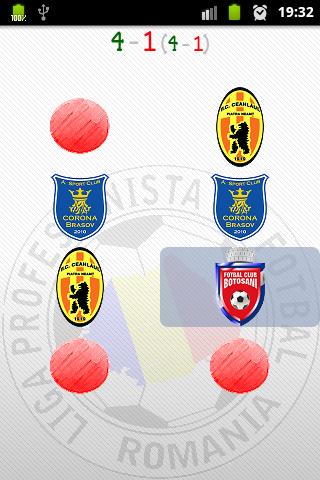 Liga 1 Romania Joc de memorie - screenshot