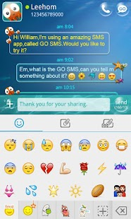 GO SMS Pro Emoji Plugin - screenshot thumbnail