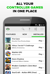 Phonejoy - Gamepad Games List Screenshot 4