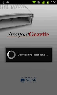 Stratford Gazette - screenshot thumbnail