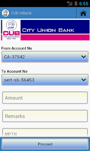 CUB Mobile Banking - screenshot thumbnail