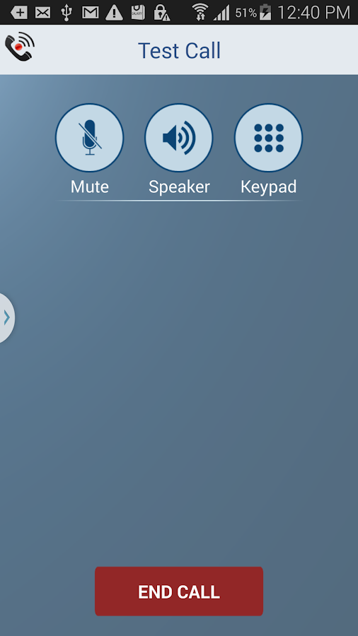 Call Recorder - IntCall- screenshot