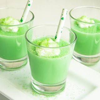 Shamrock Shake Jelly Shots