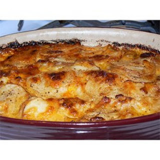 Stacey's Fabulous Purple Potato Gratin