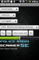 Screenshot of Police Radio Scanner SE