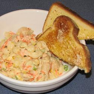 Super Shrimp and Veggie Pasta Salad.