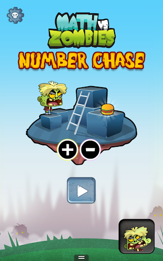 Number Chase - Math Vs Zombies