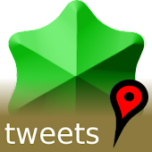 Tweets On A Map (Twitter)